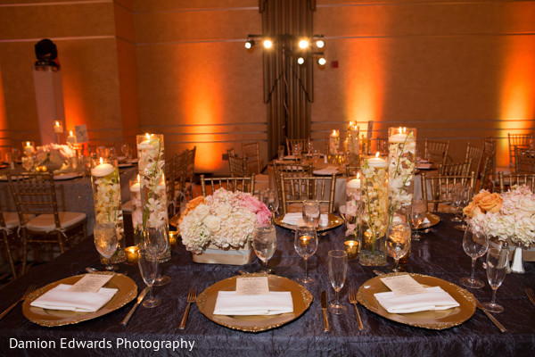 Floral & Decor in Philidelphia, PA Indian Wedding by Damion Edwards Photography