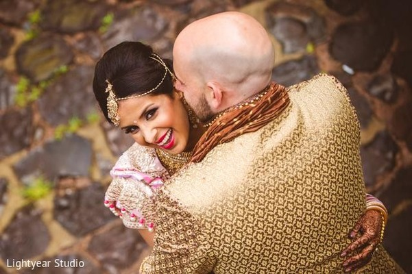 Portraits in Jersey City, NJ Indian Wedding by Lightyear Studio