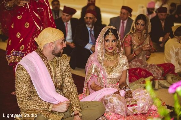 Ceremony in Jersey City, NJ Indian Wedding by Lightyear Studio