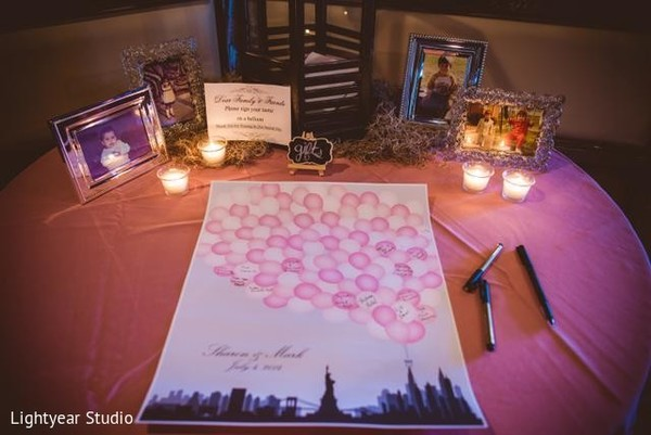 Wedding Stationary in Jersey City, NJ Indian Wedding by Lightyear Studio