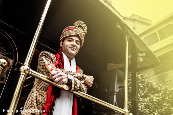 Baraat in Atlanta, GA Indian Wedding by Photography by Vinod