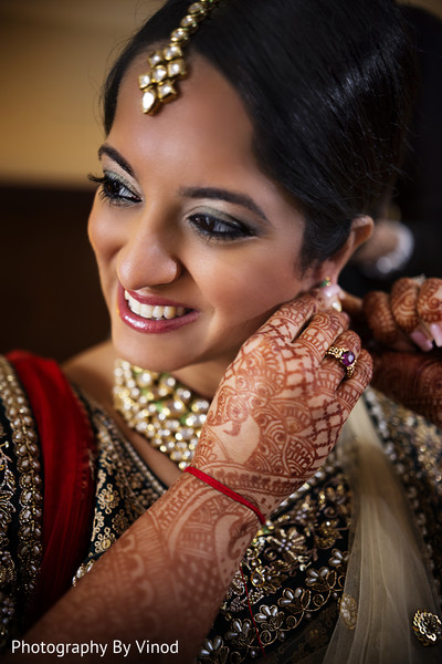 Getting ready in Atlanta, GA Indian Wedding by Photography by Vinod