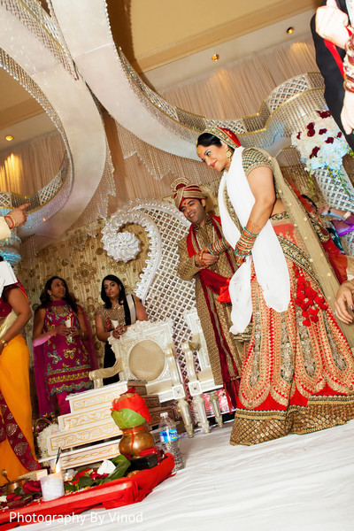 Wedding ceremony in Atlanta, GA Indian Wedding by Photography by Vinod