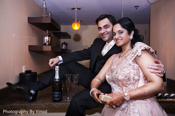 Wedding reception in Atlanta, GA Indian Wedding by Photography by Vinod