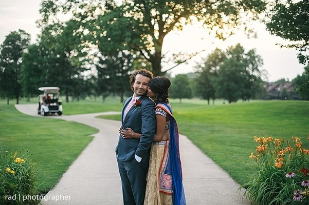 Pre Reception Portraits In Cleveland OH Indian Fusion Wedding By Rad Photographer