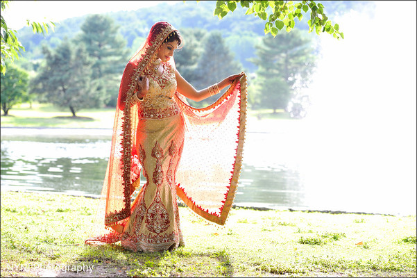 Wedding portraits in Mahwah, NJ Indian Wedding by NYNJ Photography