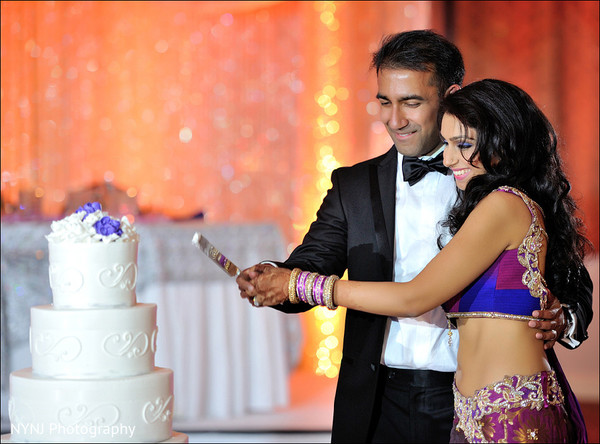 Wedding reception in Mahwah, NJ Indian Wedding by NYNJ Photography