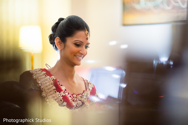 Getting Ready in Bethesda, MD Indian Wedding by Photographick Studios