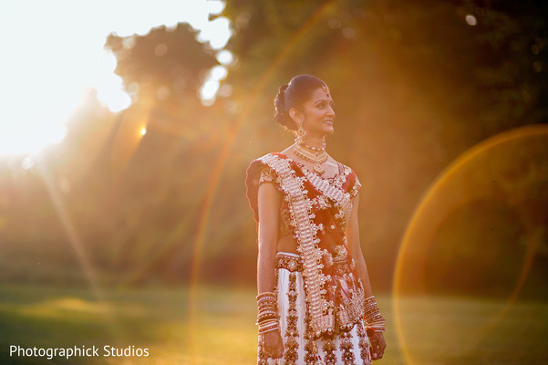 Portraits in Bethesda, MD Indian Wedding by Photographick Studios