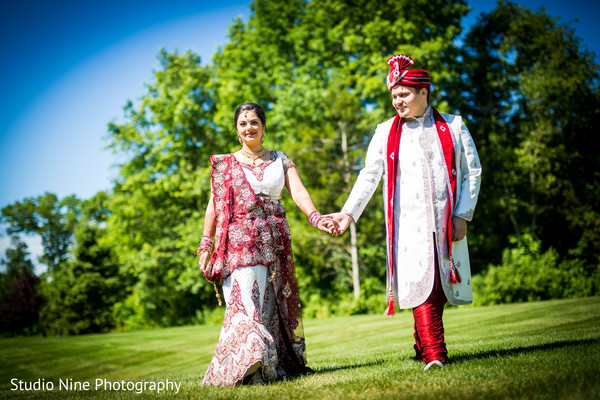 Portraits in Somerset, NJ Indian Wedding by Studio Nine Photography