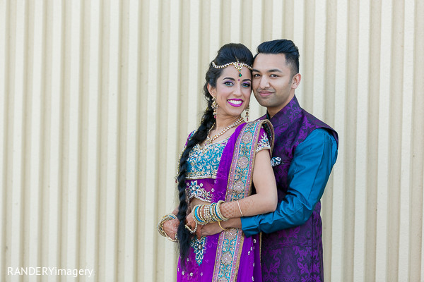 Portraits in Irvine, CA Indian Wedding by RANDERYimagery