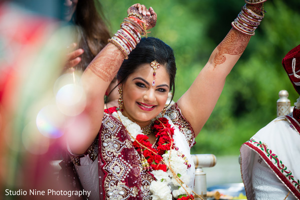 Ceremony in Somerset, NJ Indian Wedding by Studio Nine Photography