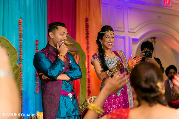 Sangeet in Irvine, CA Indian Wedding by RANDERYimagery