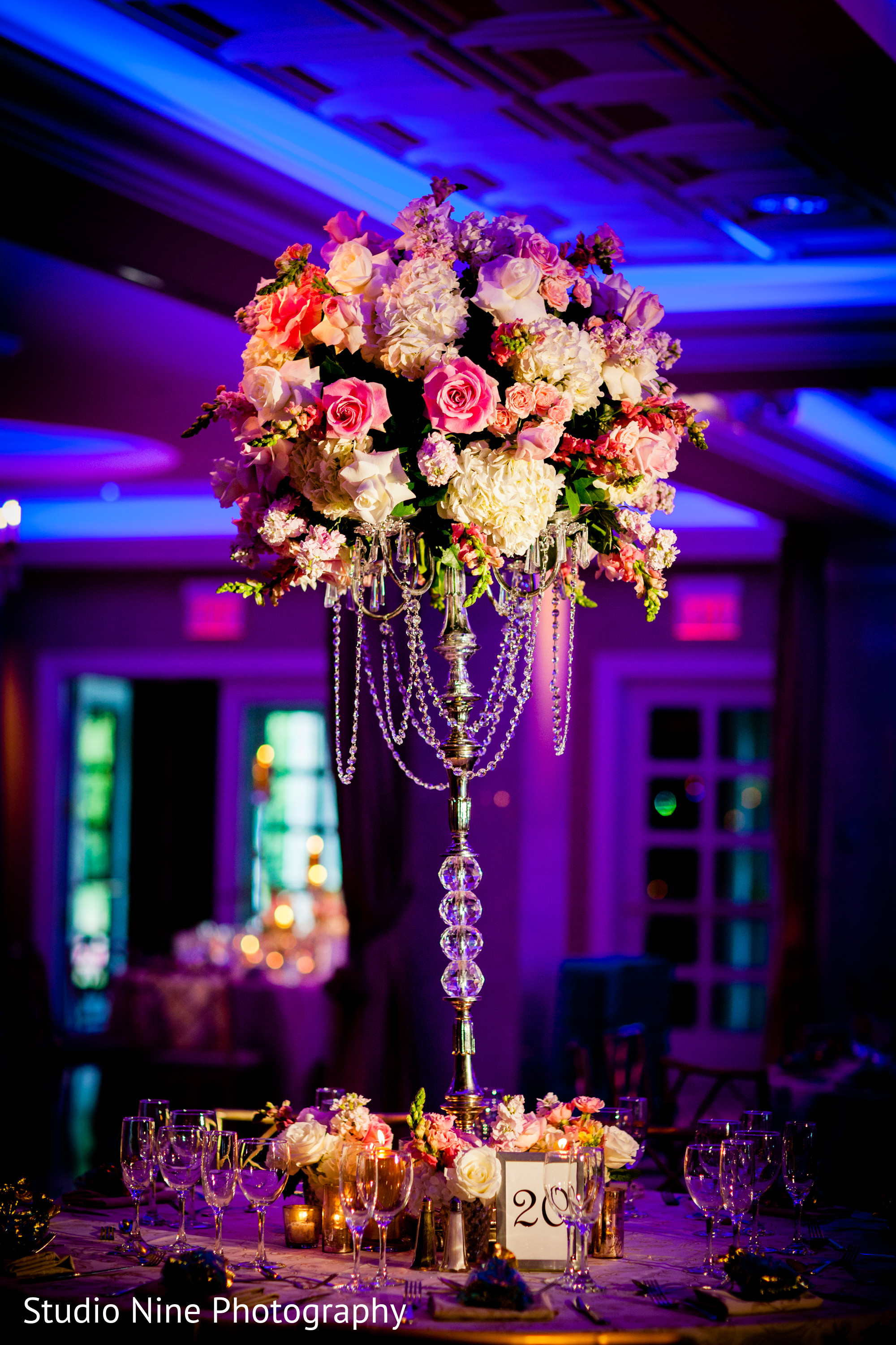 reception decor in somerset nj indian wedding by studio nine photography maharani weddings. Black Bedroom Furniture Sets. Home Design Ideas