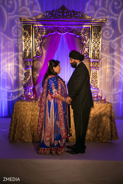 Wedding reception in Charleston, SC Sikh Wedding by ZMEDIA