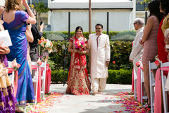 An Indian bride and groom wed in a charming outdoor ceremony!
