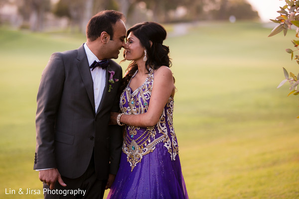 Portraits in Newport Beach, CA Indian Wedding by Lin & Jirsa Photography