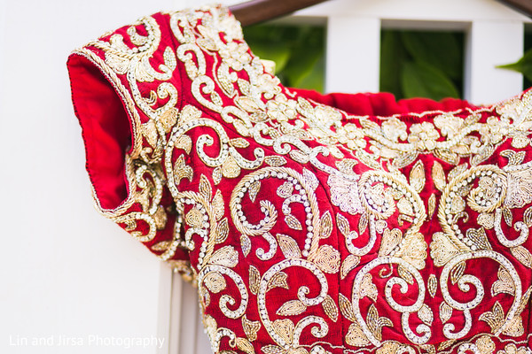 Getting ready in Newport Beach, CA Indian Wedding by Lin and Jirsa Photography