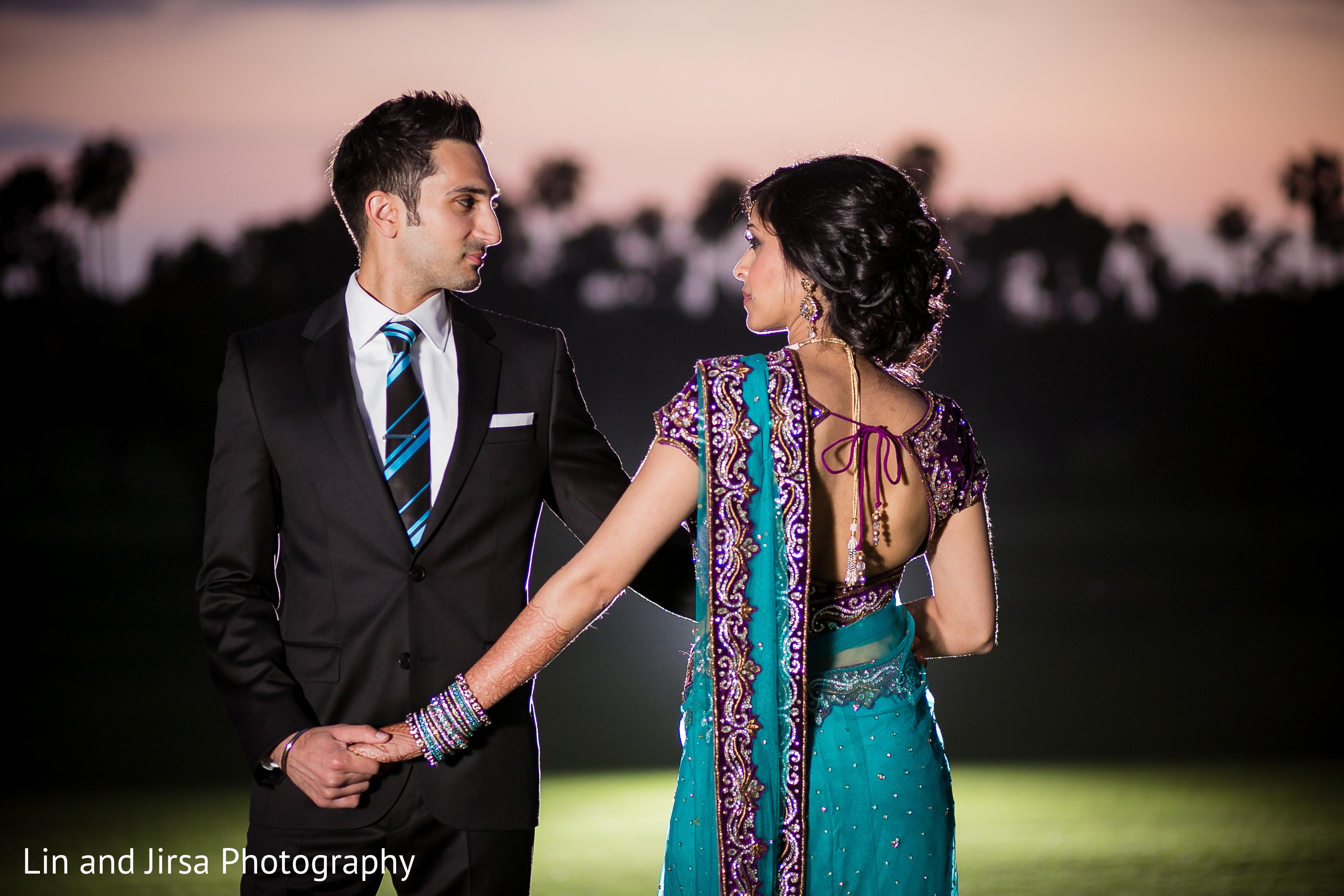 Reception Portraits In Newport Beach Ca Indian Wedding By Lin And Jirsa Photography Maharani Weddings