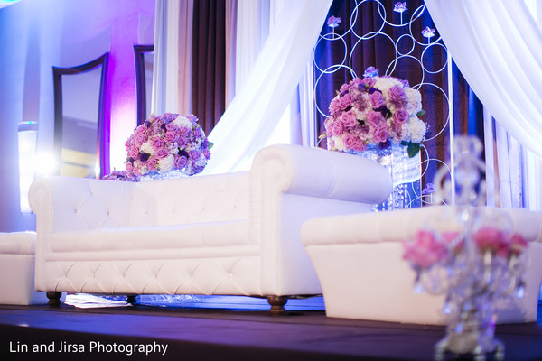 Floral & Decor in Newport Beach, CA Indian Wedding by Lin and Jirsa Photography