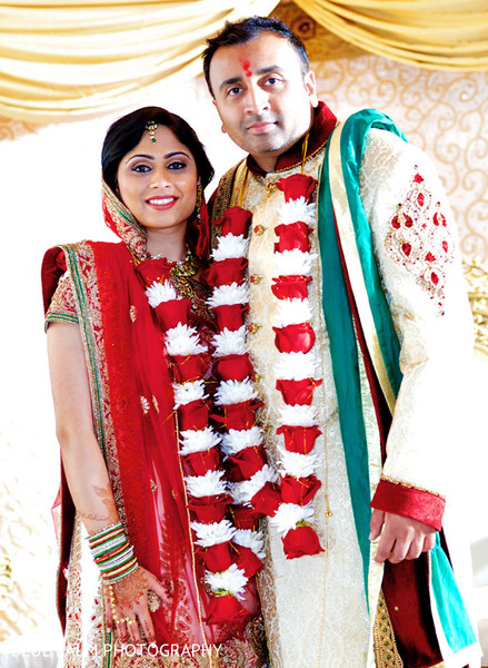 Wedding ceremony in Potomac, MD Indian Wedding by Blue Palm Photography