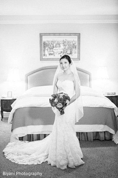 Bridal portraits in Houston, TX Fusion Wedding by Biyani Photography