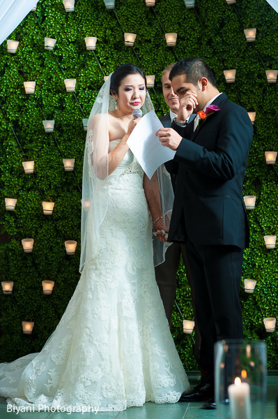 Wedding ceremony in Houston, TX Fusion Wedding by Biyani Photography