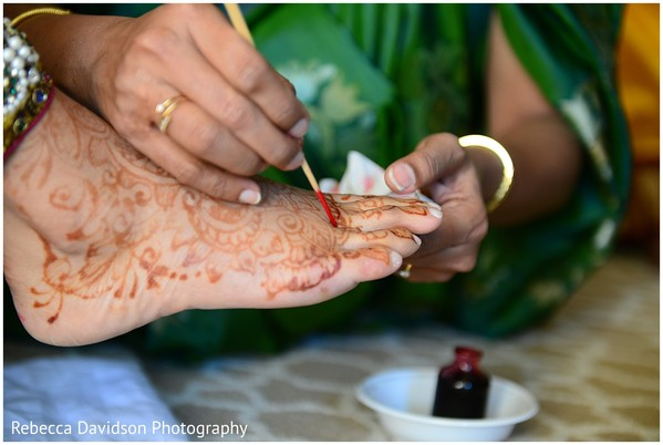 Getting Ready in Grand Cayman Indian Destination Wedding by Rebecca Davidson Photography