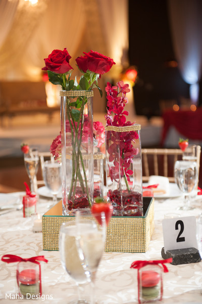 Floral & Decor in Chicago, IL Pakistani Wedding by Maha Designs