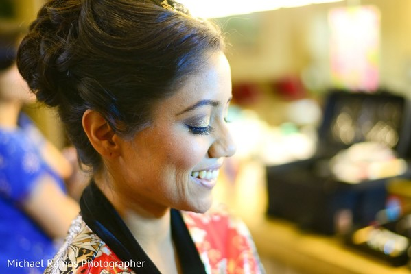 Getting Ready in Sugar Land, TX Indian Fusion Wedding by Michael Ramos Photographer