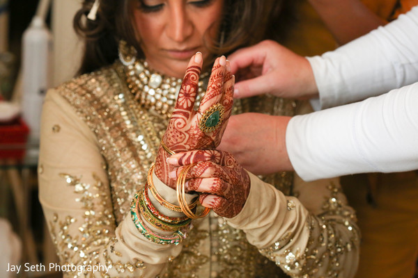 Getting Ready in New York, NY Indian Wedding by Jay Seth Photography