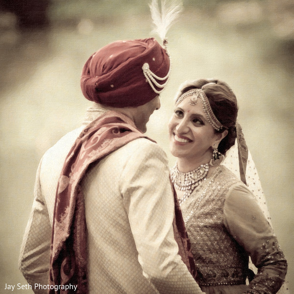 Portraits in New York, NY Indian Wedding by Jay Seth Photography