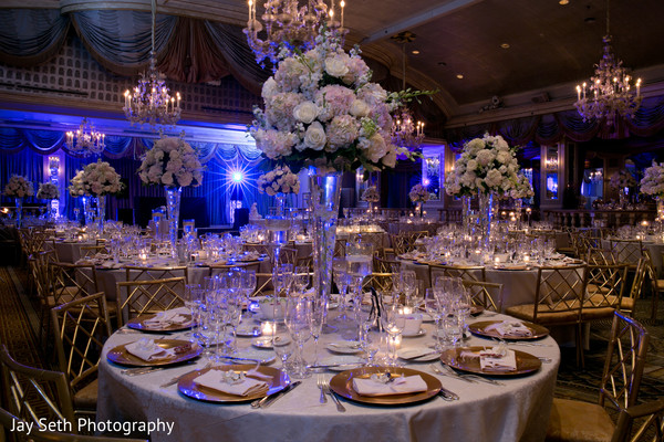 Reception in New York, NY Indian Wedding by Jay Seth Photography