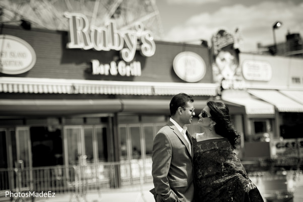 Engagement in Coney Island, NY Engagement by PhotosMadeEz