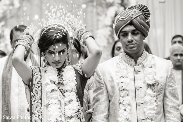 Wedding ceremony in Warwick, RI Indian Wedding by Salwa Photography
