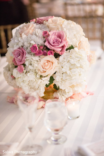 Floral & Decor in Warwick, RI Indian Wedding by Salwa Photography