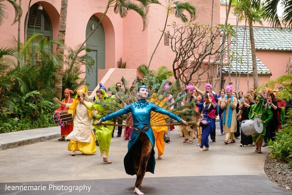 Baraat in Honolulu, HI Fusion Destination by Jeannemarie Photography