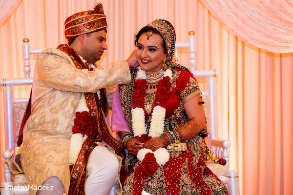 Hindu Ceremony in Parsippany, NJ Indian Wedding by PhotosMadeEz