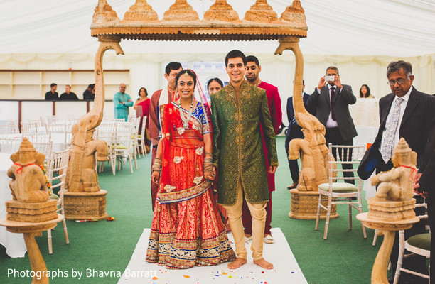 Ceremony In Hertfordshire, UK Indian Wedding By