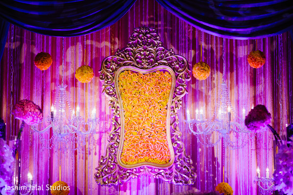 Floral & Decor in Woodbridge, NJ Indian Wedding by Jashim Jalal Studios