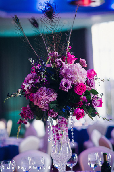 Floral & Decor in Woodland Park, NJ Indian Wedding by Charmi Peña Photography