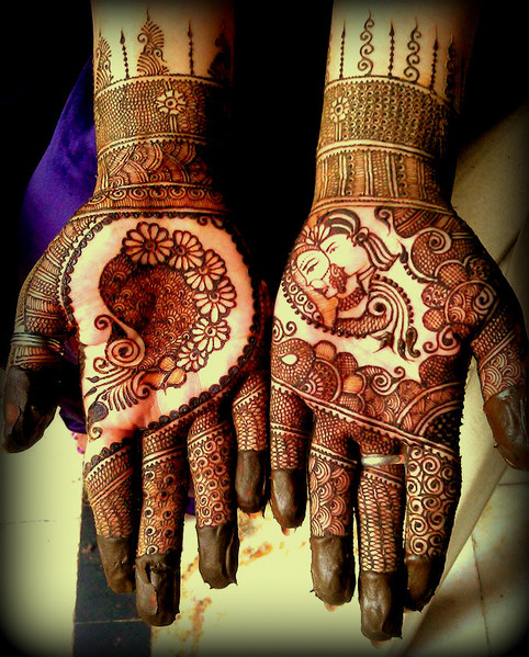 Raja Rani Bridal Mehndi Designs : Mehndi maharani finalist henna creations in