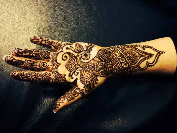 Photo in Mehndi Maharani 2014 Finalist: Makeup - Hair - Mehndi by Sonia G.