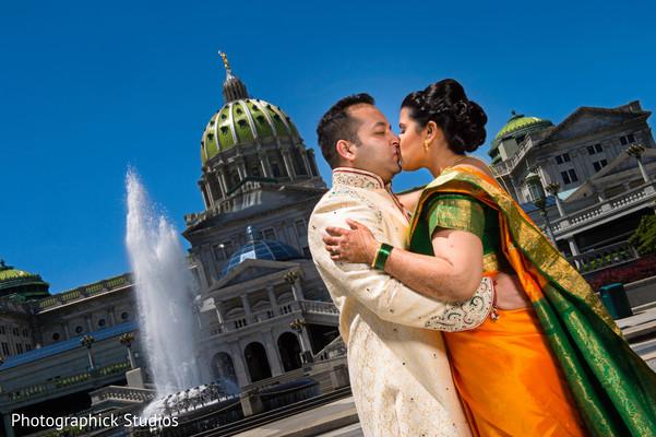 indian wedding outdoor photo shoot