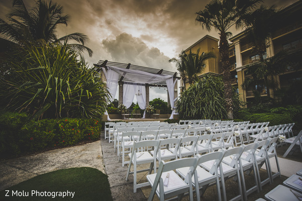Venue in Grand Cayman Indian Destination Wedding by Z Molu Photography