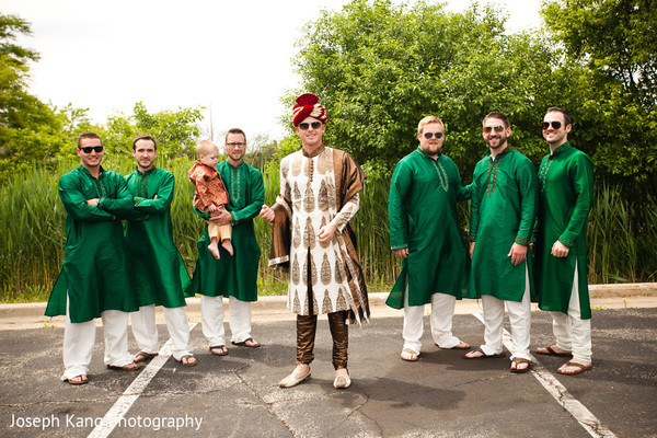 Baraat in Chicago, IL Indian Fusion Wedding by Joseph Kang Photography