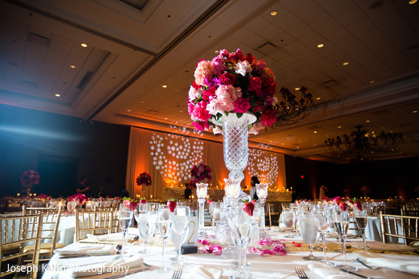 Floral & Decor in Chicago, IL Indian Fusion Wedding by Joseph Kang Photography