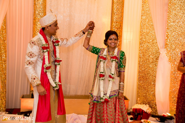 Wedding ceremony in Park Ridge, NJ Indian Wedding by PhotosMadeEz