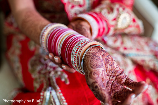Getting ready in Princeton, NJ Indian Wedding by Photography by Bilal