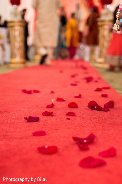 Floral & Decor in Princeton, NJ Indian Wedding by Photography by Bilal